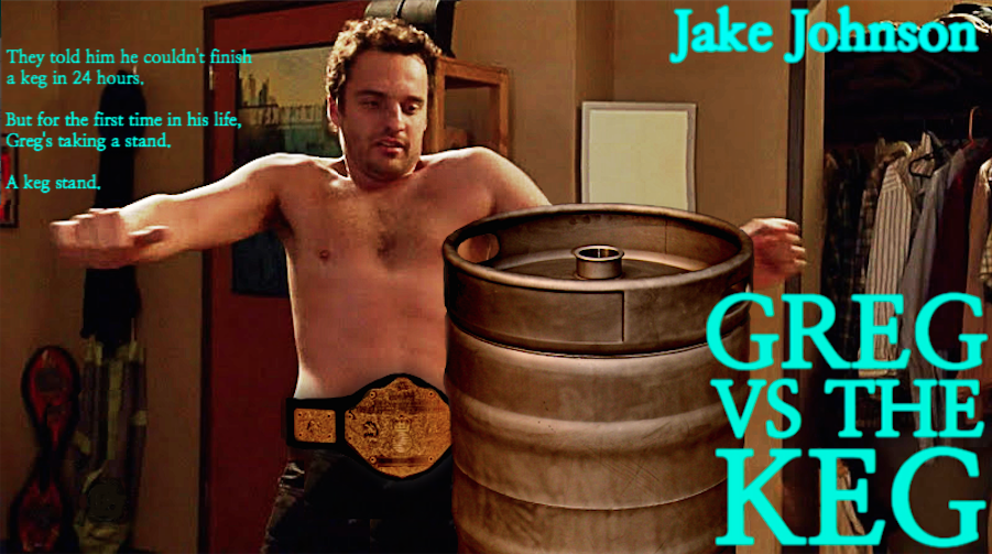 Greg Vs The Keg Poster
