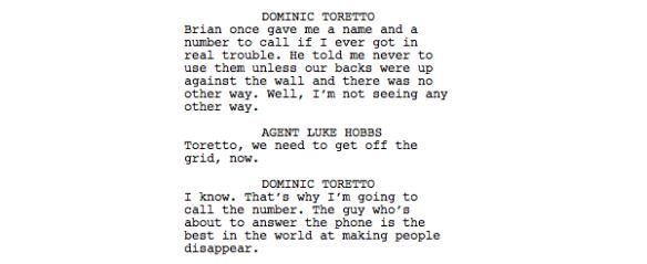 Furious Eight Screenplay 3