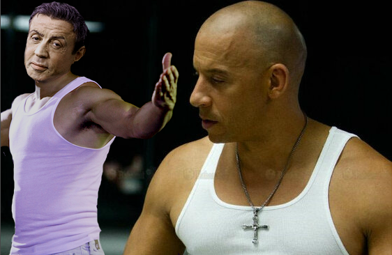 Sylvester Stallone as Vic Toretto in Furious Eight
