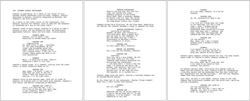 Ladybugs Script